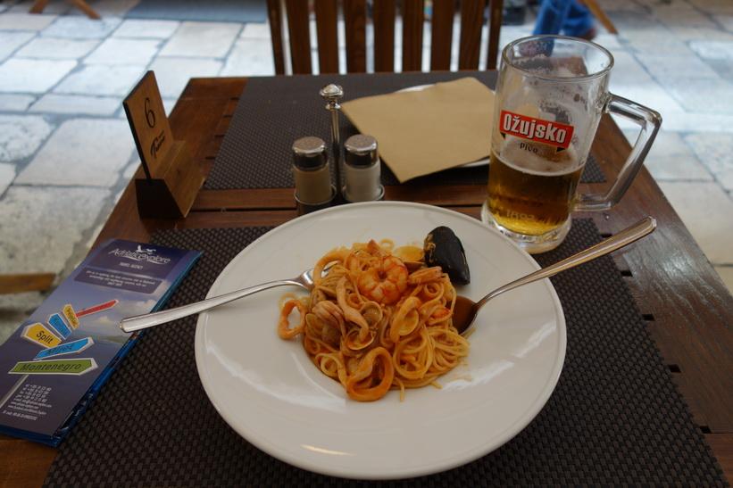 Lunch i gamla staden, Dubrovnik.