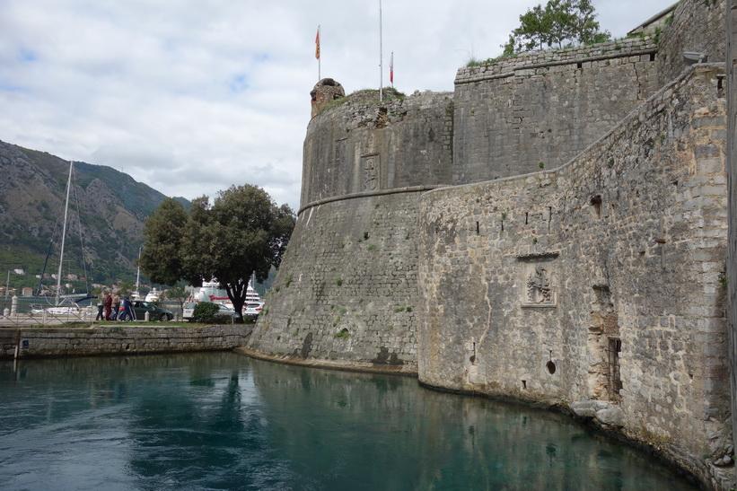 Del av stadsmuren, Kotor.