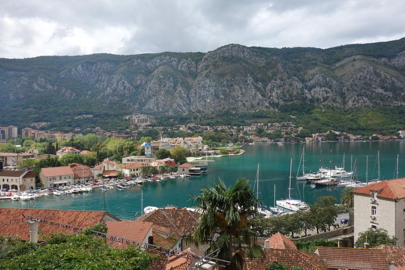 Del av hamnen, Kotor.
