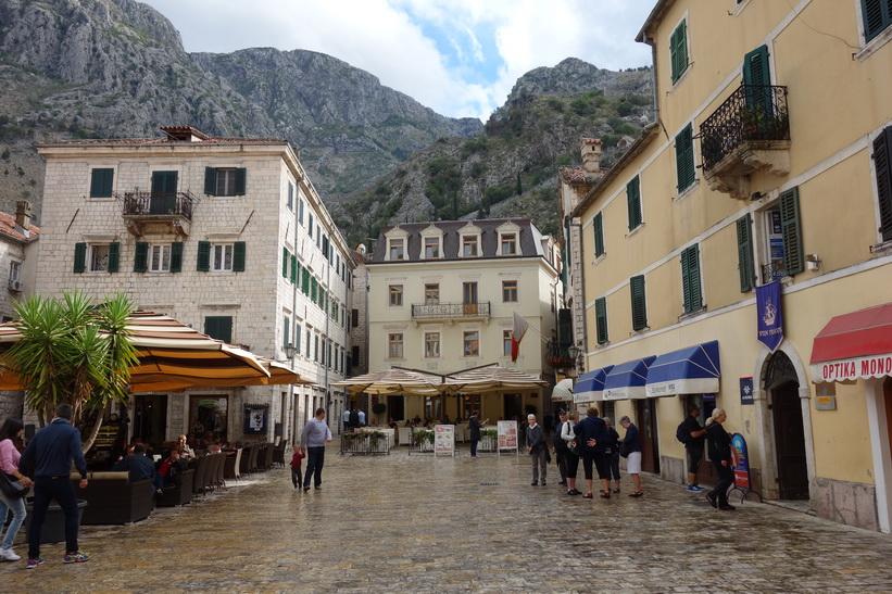 Gamla staden i Kotor.