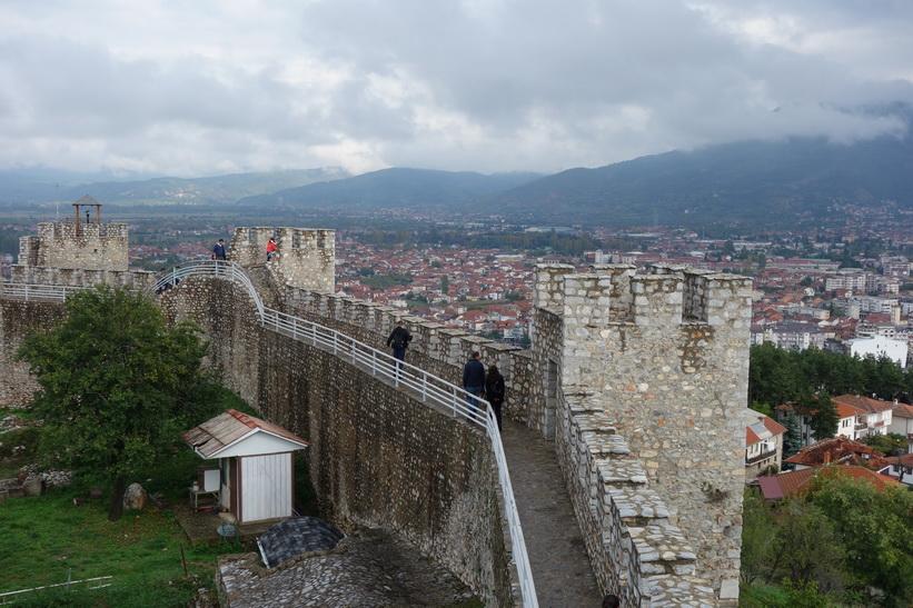 Tsar Samuels fästning, Ohrid.