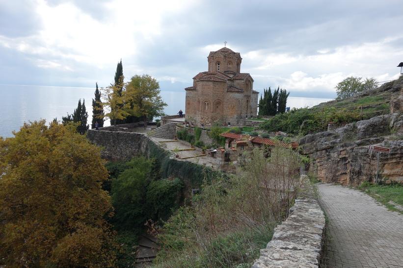 Sankt Johannes kyrka, Ohrid.