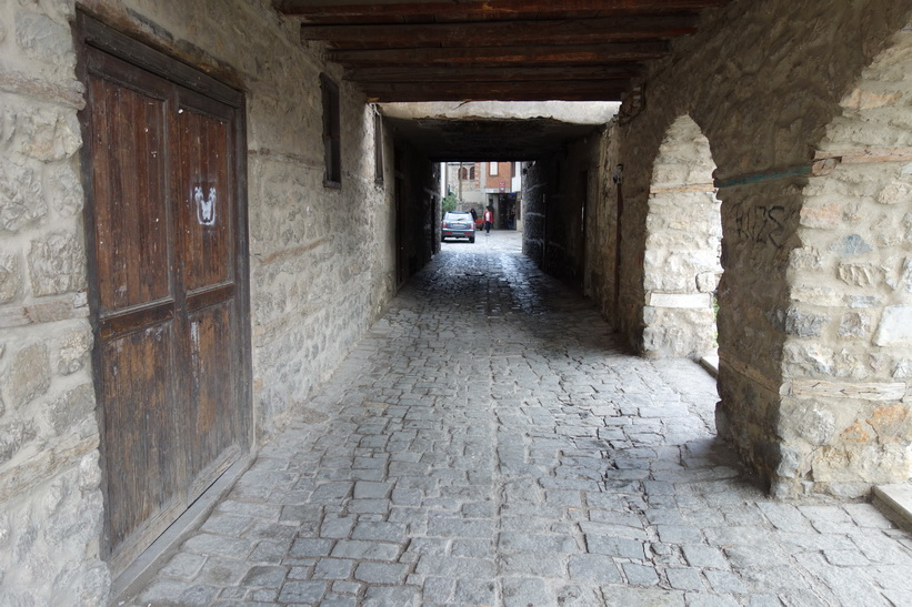Gamla staden i Ohrid.