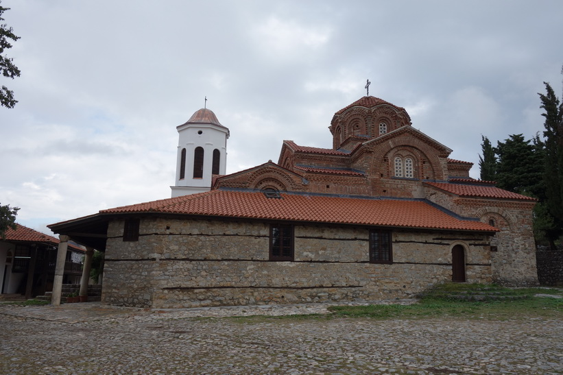Kyrkan vid Upper Gate, Ohrid.