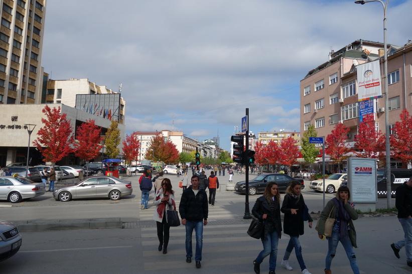 Mother Teresa Boulevard, Pristina.