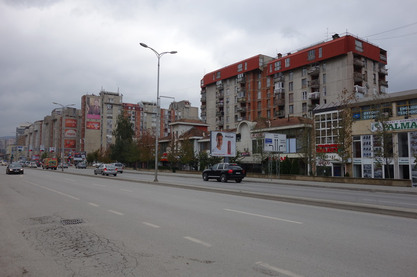 Clinton Boulevard, Pristina.