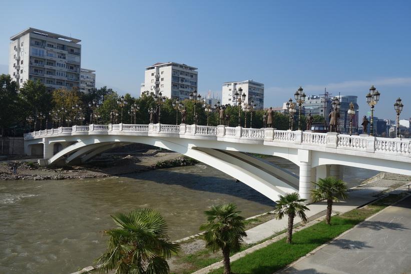 Skopje Art Bridge.