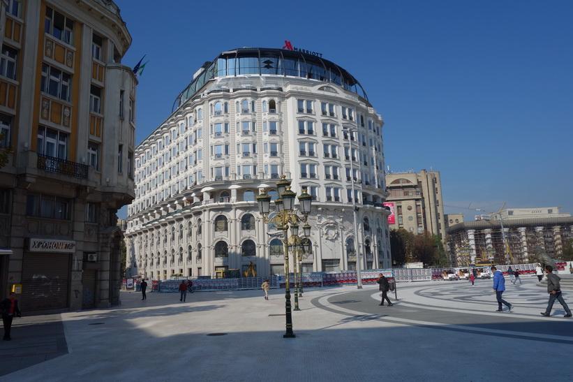 Macedonia Square, Skopje.
