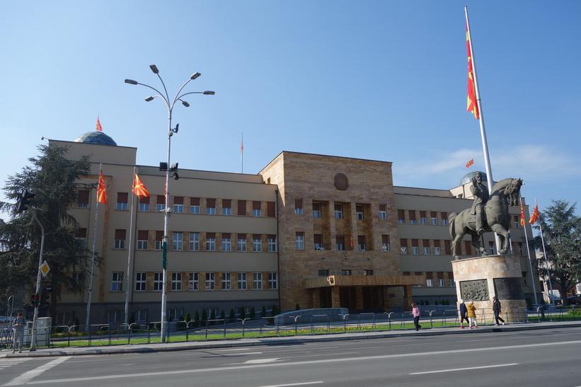 Parliament of the Republic of Macedonia, Skopje.
