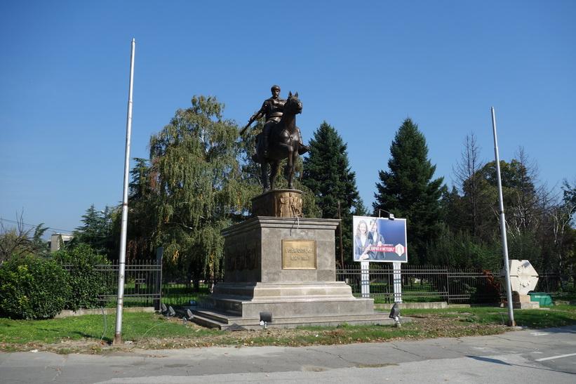 Staty i centrala Skopje.