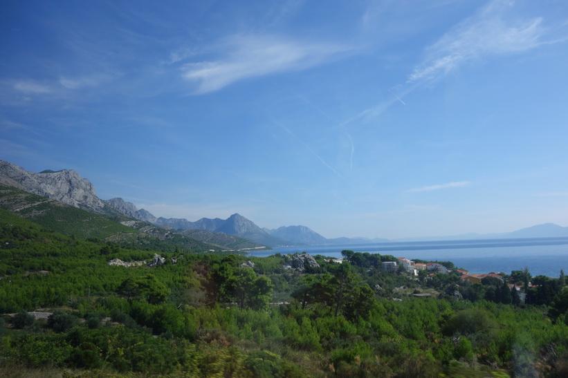 Kusten längs Dalmatien i Kroatien är sagolikt vacker.8