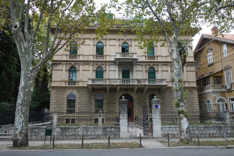 Arkitektur i centrala Split.