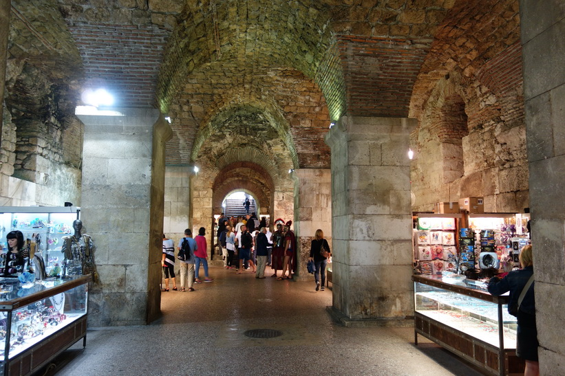 Diocletianus palats, Split.