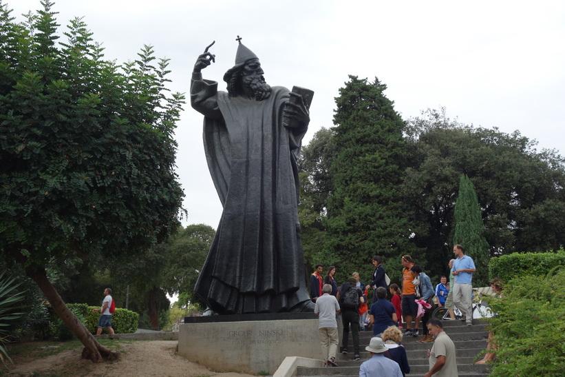 Gregorius av Nin, Split.