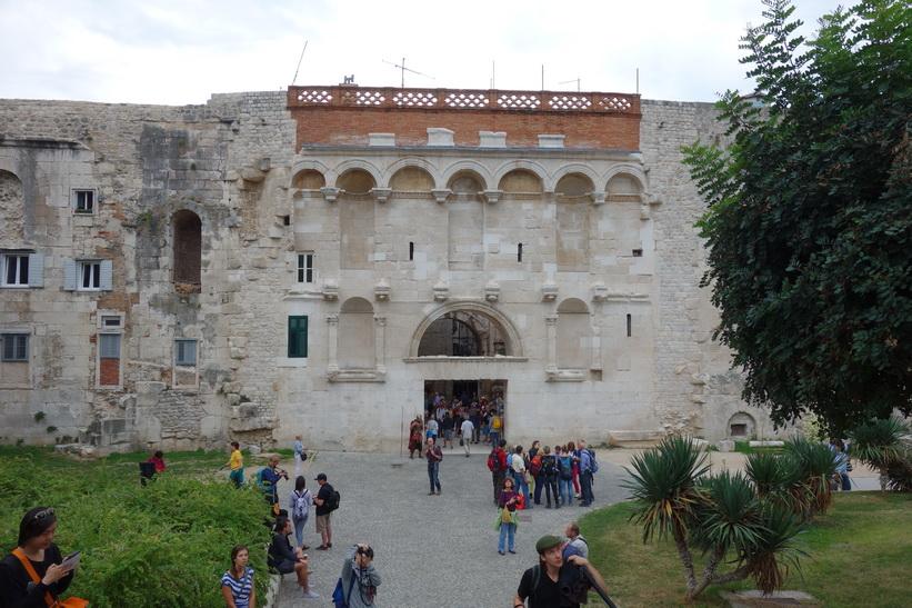 Golden gate, Diocletianus palats, Split.