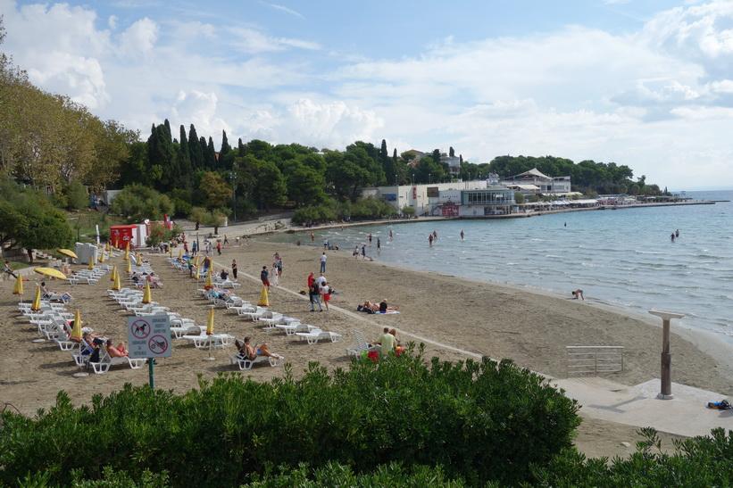 Bacvice Beach, Split.