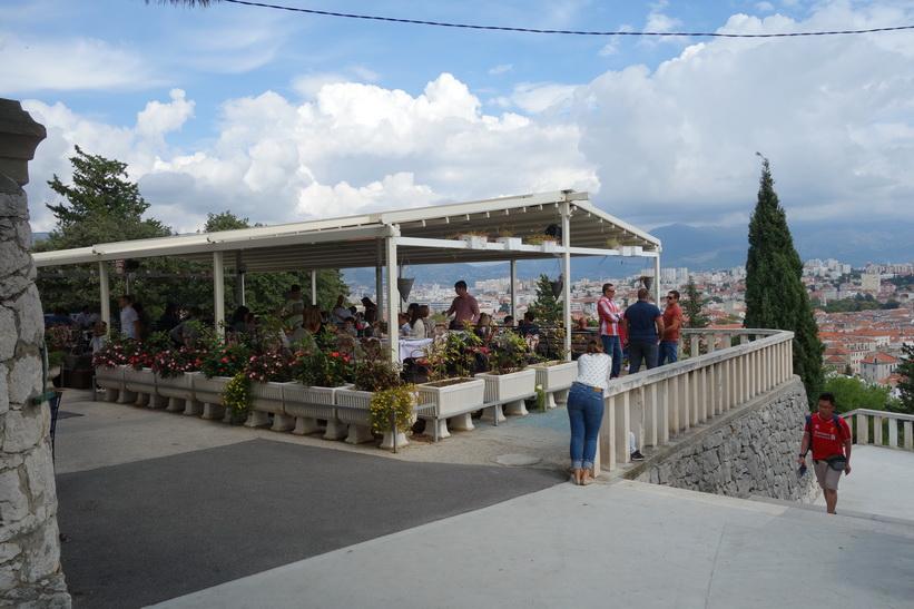 Restaurangen med den bästa utsikten i Split.