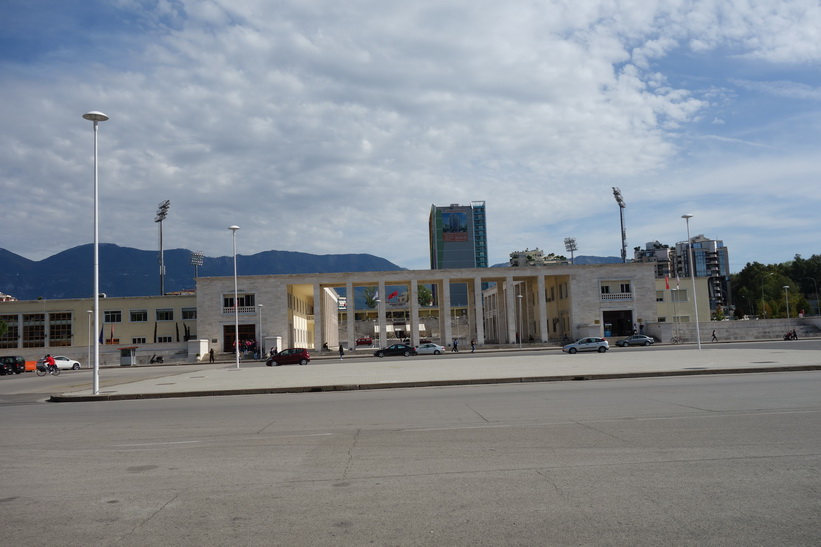 Mother Teresa Square, Tirana.