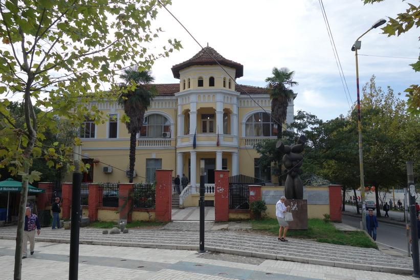 Arkitektur i centrala Tirana.
