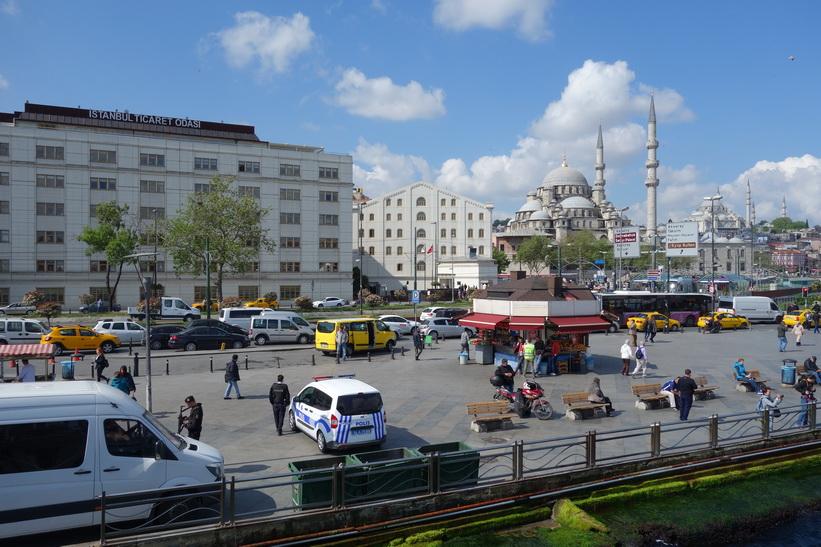 Kajen i Eminönü, Istanbul.