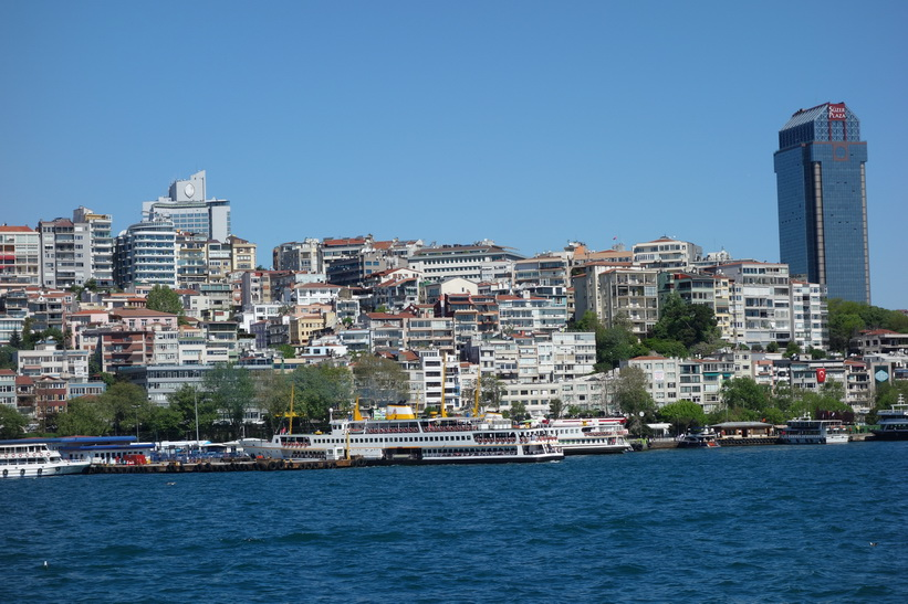 Färjeterminal i centrala Istanbul.