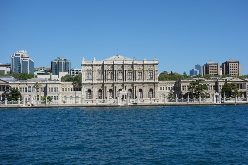 Dolmabahçepalatset, Istanbul.