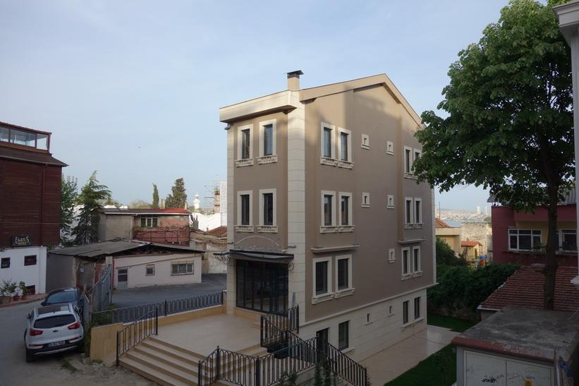 Arkitekturen i kvarteret där jag bor, Sultanahmet, Istanbul.