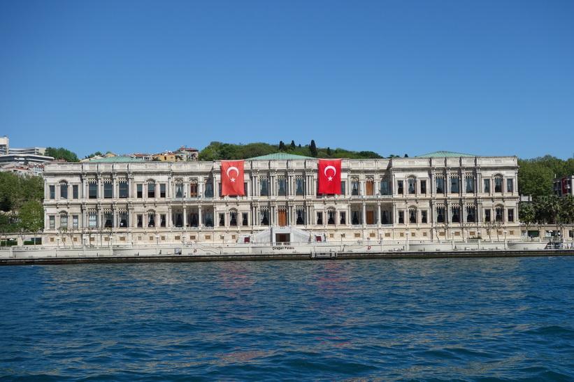 Ciragan Palace Kempinski, Bosporen-turen, Istanbul.