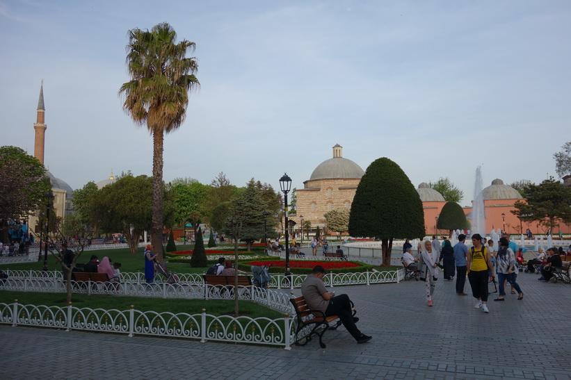 Sultanahmet park, Sultanahmet, Istanbul.