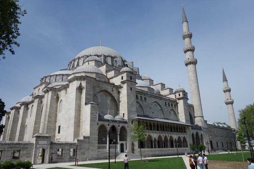 Süleymaniyemoskén, Istanbul.