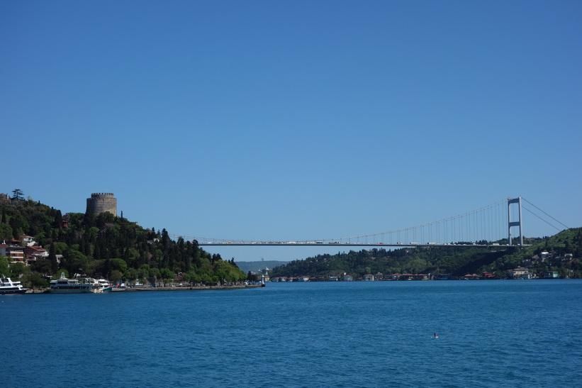 Den andra Bosporen-bron, Bosporen-turen, Istanbul.