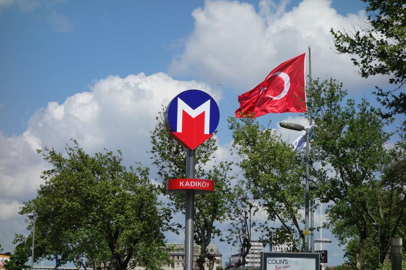 Metrostation Kadiköy, Istanbul.