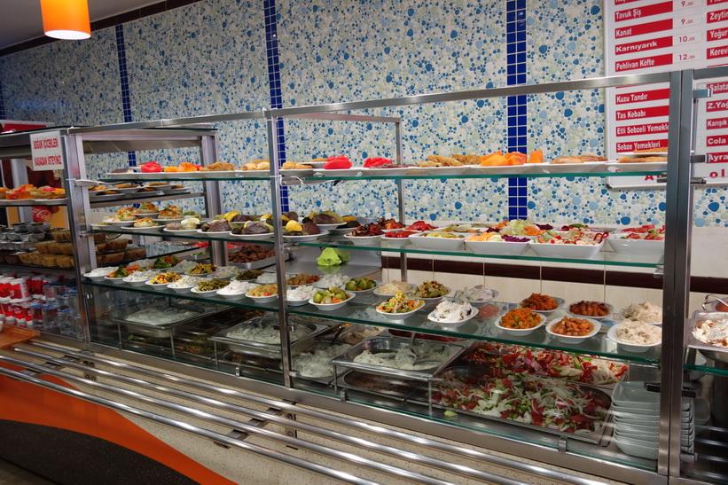 Restaurang i centrala Kadiköy, Istanbul.