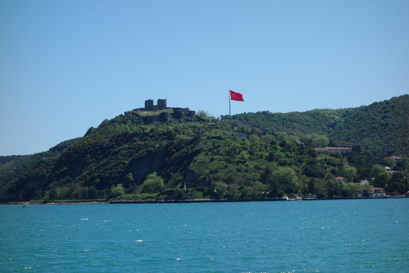 Joshua's Hill vid Bosporens strand på den asiatiska sidan, Istanbul.