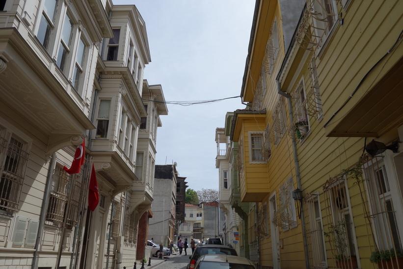 Arkitektur jag stötte på när jag gjorde Ottoman heartland walking tour, Istanbul.