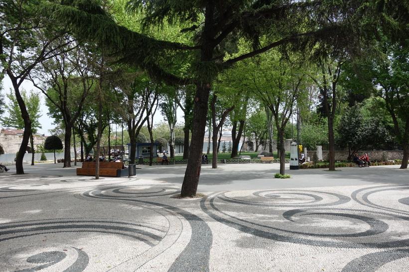 Saraçhane Parkı, Istanbul.