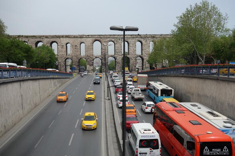 Valens Aqueduct, Istanbul.