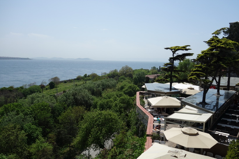 Utsikten från Topkapi Palace, Istanbul.
