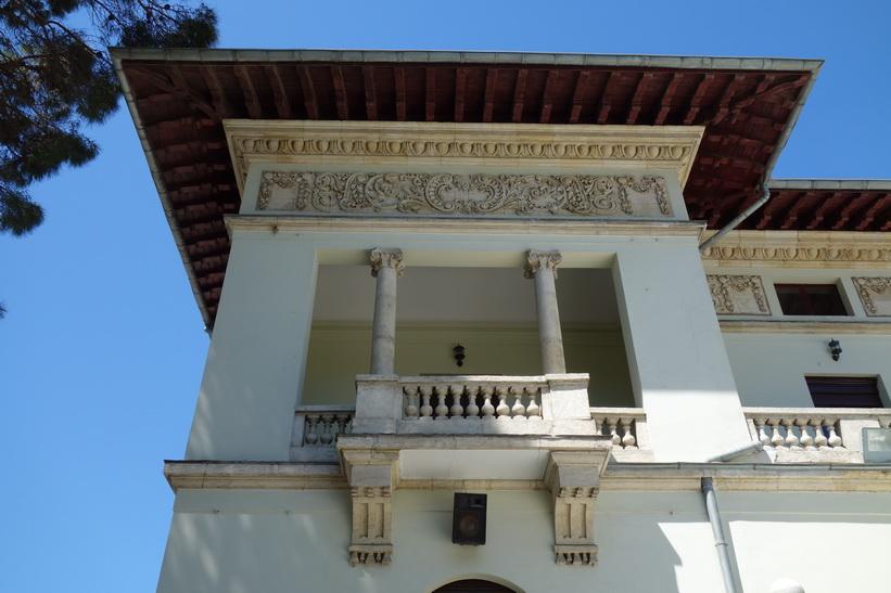 Arkitekturella mästerverket Khedive Palace (Hidiv Kasri) från 1907, Istanbul.