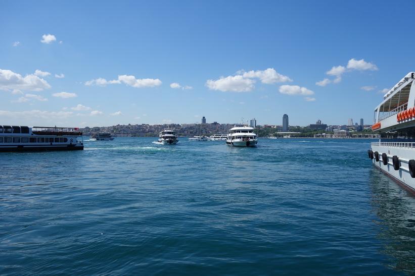 Färjeterminalen i Üsküdar, Istanbul.
