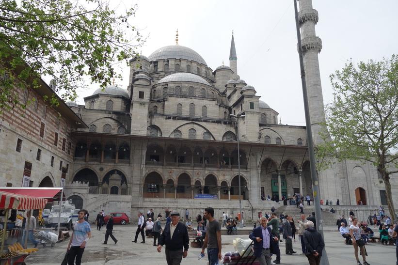 Nya moskén (Yeni Cami), Istanbul.