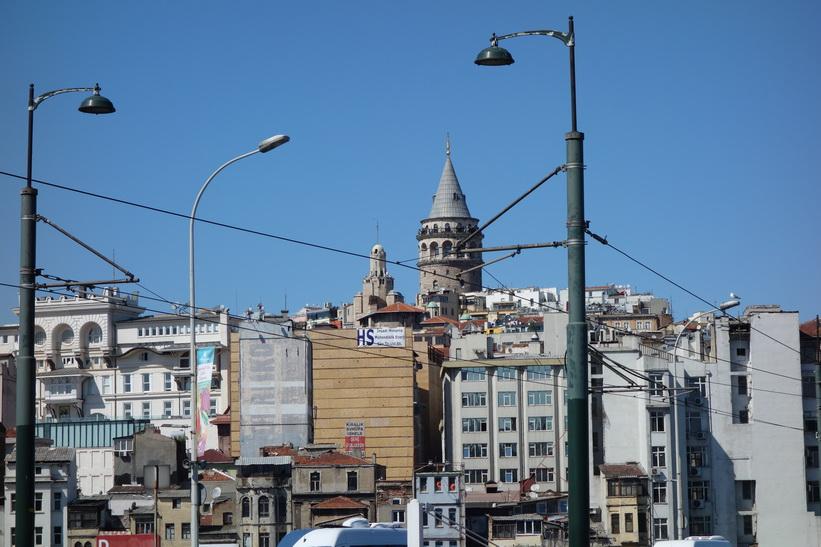 Galata Tower, Beyoğlu, Istanbul.