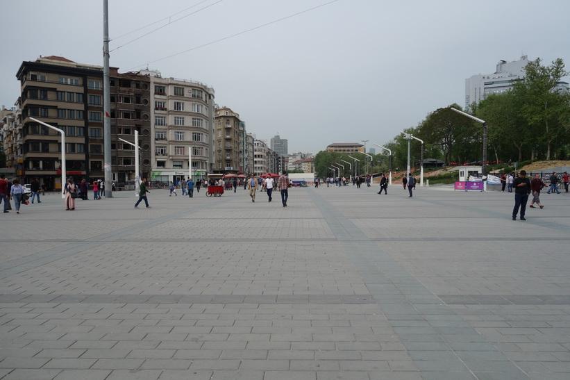 Taksim-torget, Istanbul.