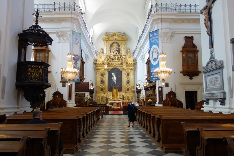 Church of the Holy Cross, Warszawa.