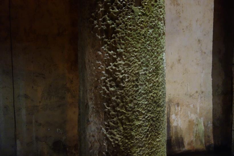 Crying column, Basilikacisternen i Sultanahmet, Istanbul.