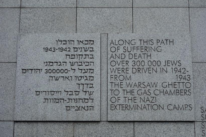 Umschlagplatz, platsen där judarna samlades inför transporten till Treblinka och döden.