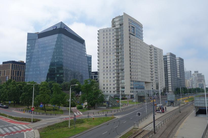 I närheten av Warszawa Gdańska tågstation, Warszawa.
