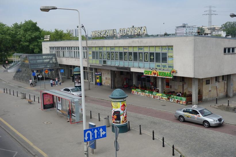 Warszawa Gdańska tågstation, Warszawa.
