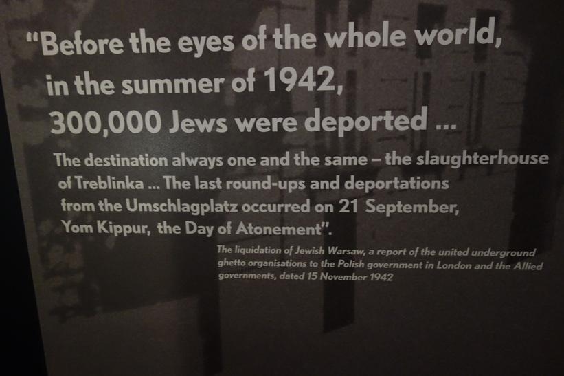 Museum of the History of Polish Jews, Warszawa.
