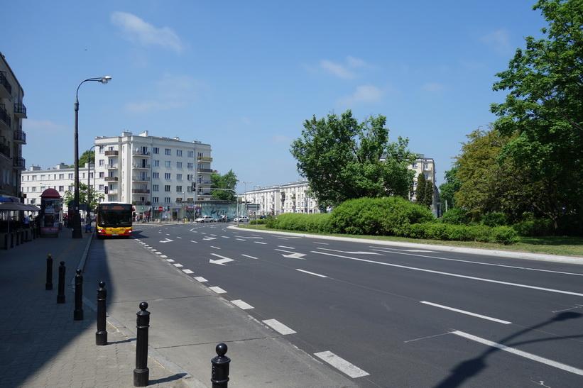 Plac Wilsona, Warszawa.